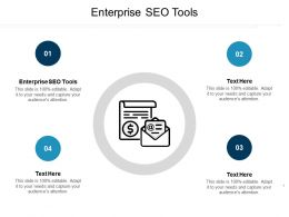Enterprise SEO Tools Ppt Powerpoint Presentation Infographic Template Themes Cpb