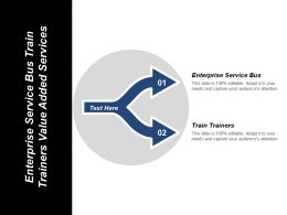 Enterprise Service Bus Train Trainers Value Added Services