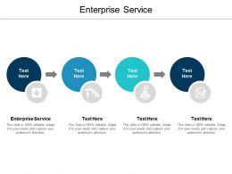 Enterprise Service Ppt Powerpoint Presentation Infographic Template Design Ideas Cpb