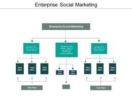 Enterprise Social Marketing Ppt Powerpoint Presentation Styles Information Cpb