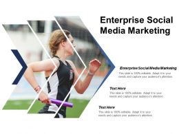 Enterprise Social Media Marketing Ppt Powerpoint Presentation File Portrait Cpb