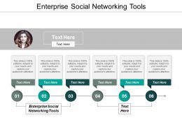 Enterprise Social Networking Tools Ppt Powerpoint Presentation Styles Layout Cpb