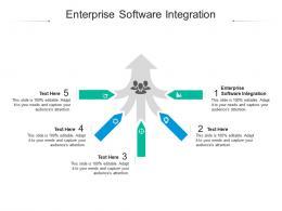 Enterprise Software Integration Ppt Powerpoint Presentation Professional Slide Portrait Cpb