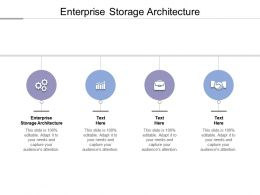 Enterprise Storage Architecture Ppt Powerpoint Presentation Infographic Template Visual Cpb