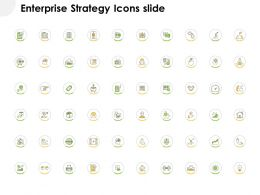 Enterprise Strategy Icons Slide Checklist L780 Ppt Powerpoint Layout Ideas