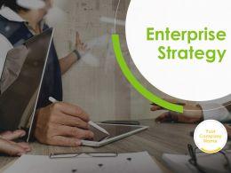Enterprise Strategy Powerpoint Presentation Slides