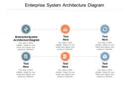 Enterprise System Architecture Diagram Ppt Powerpoint Presentation File Portfolio Cpb