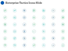 Enterprise Tactics Icons Slide L1005 Ppt Powerpoint Presentation Model