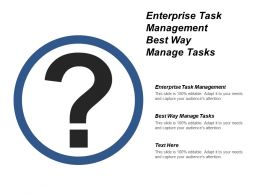Enterprise Task Management Best Way Manage Tasks Cpb