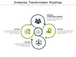 Enterprise Transformation Roadmap Ppt Powerpoint Presentation Ideas Graphics Cpb