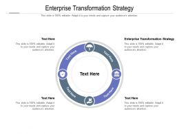 Enterprise Transformation Strategy Ppt Powerpoint Presentation Layouts Outline Cpb