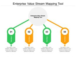 Enterprise Value Stream Mapping Tool Ppt Powerpoint Presentation Layouts Cpb