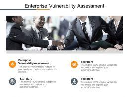 Enterprise Vulnerability Assessment Ppt Powerpoint Presentation Model Slides Cpb