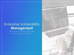 Enterprise Vulnerability Management Powerpoint Presentation Slides