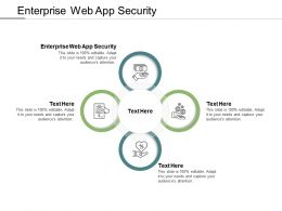 Enterprise Web App Security Ppt Powerpoint Presentation Example 2015 Cpb