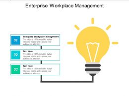 Enterprise Workplace Management Ppt Powerpoint Presentation Icon Objects Cpb