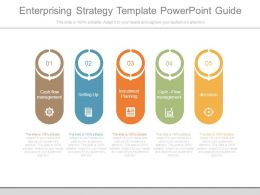 Enterprising Strategy Template Powerpoint Guide