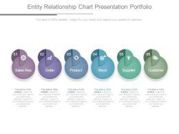 Entity Relationship Chart Presentation Portfolio