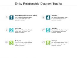 Entity Relationship Diagram Tutorial Ppt Powerpoint Presentation Visual Aids Diagrams Cpb