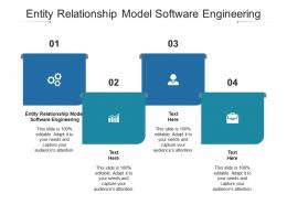 Entity Relationship Model Software Engineering Ppt Powerpoint Presentation Gallery Cpb