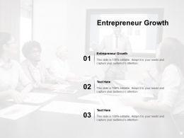 Entrepreneur Growth Ppt Powerpoint Presentation Professional Diagrams Cpb
