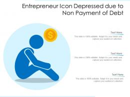 Entrepreneur Icon Depressed Due To Non Payment Of Debt