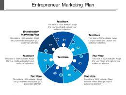 Entrepreneur Marketing Plan Ppt Powerpoint Presentation Gallery Rules Cpb