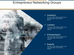Entrepreneur Networking Groups Powerpoint Templates