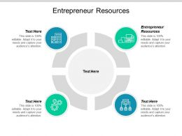 Entrepreneur Resources Ppt Powerpoint Presentation Ideas Rules Cpb
