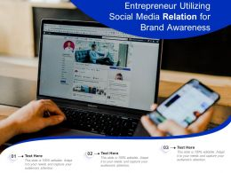 Entrepreneur Utilizing Social Media Relation For Brand Awareness