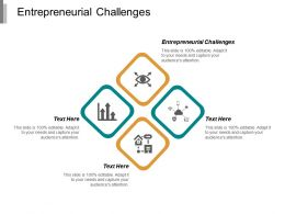 Entrepreneurial Challenges Ppt Powerpoint Presentation Model Summary Cpb