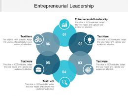 Entrepreneurial Leadership Ppt Powerpoint Presentation File Format Cpb