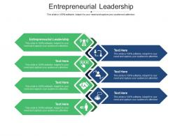 Entrepreneurial Leadership Ppt Powerpoint Presentation Professional Show Cpb