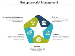 Entrepreneurial Management Ppt Powerpoint Presentation Show Good Cpb