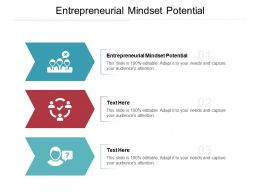 Entrepreneurial Mindset Potential Ppt Powerpoint Presentation Layouts Visuals Cpb