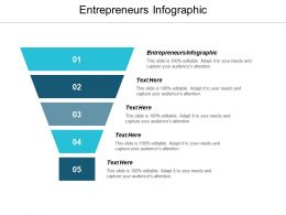 Entrepreneurs Infographic Ppt Powerpoint Presentation File Sample Cpb