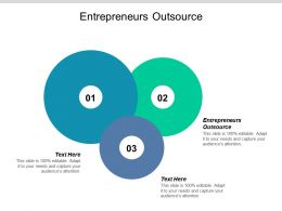 Entrepreneurs Outsource Ppt Powerpoint Presentation Ideas Good Cpb
