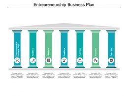 Entrepreneurship Business Plan Ppt Powerpoint Presentation Styles Cpb