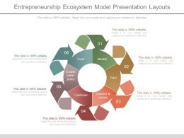 Entrepreneurship Ecosystem Model Presentation Layouts