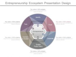 Entrepreneurship Ecosystem Presentation Design