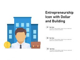 Entrepreneurship Icon With Dollar And Building