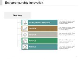 Entrepreneurship Innovation Ppt Powerpoint Presentation File Templates Cpb