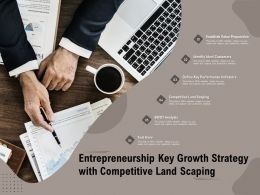 Entrepreneurship Key Growth Strategy With Competitive Land Scaping