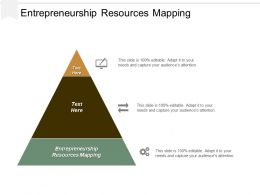 Entrepreneurship Resources Mapping Ppt Powerpoint Presentation Gallery Styles Cpb