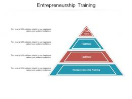 Entrepreneurship Training Ppt Powerpoint Presentation Slides Graphic Tips Cpb