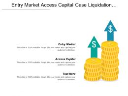 Entry Market Access Capital Case Liquidation Magnitude Competitive