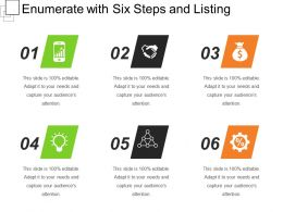 Enumerate With Six Steps And Listing