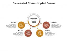 Enumerated Powers Implied Powers Ppt Powerpoint Presentation Summary Examples Cpb