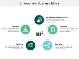 Environment Business Ethics Ppt Powerpoint Presentation Layouts Diagrams Cpb