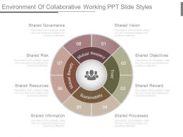 Environment Of Collaborative Working Ppt Slide Styles